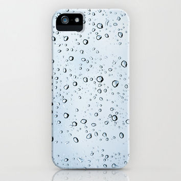 Water Drops iPhone & iPod Case by Christian Solf
