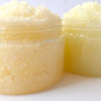 Peppermint Foot Scrub & Orange Hand Scrub Set, Natural Beauty