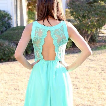 Alluring Dress - Mint