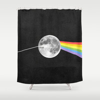 Dark Side of the Moon. Shower Curtain by Nick Nelson | Society6