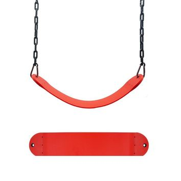 1PC Swing Seat For Outdoor Playground Swingset Accessories Hanger Kids Child Belt Hanger Swing Seat #S0
