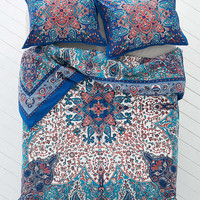 Plum Amp Bow Dandeli Medallion Duvet Cover From Urban Outfitters