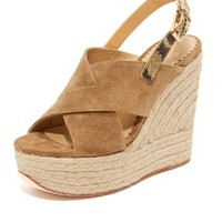Borneo Wedge Sandals