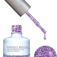 Lechat Perfect Match Gel + Polish 0.5 oz  PMS136 Violet Vixen