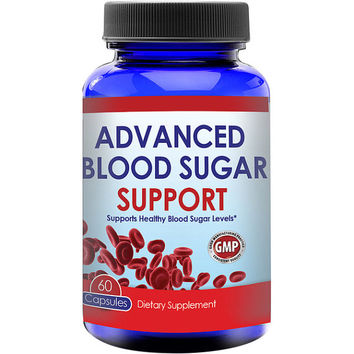 Totally Products Advanced Blood Sugar Support Formula (60 Capsules) - Enjoy more energy as you lose weight with this potent supplement.