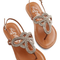ModCloth Queen of Your Sand Castle Sandal