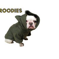French Bulldog Boston Terrier FROODIES HOODIES USA Camo Fleece SWEATSHIRT Coat