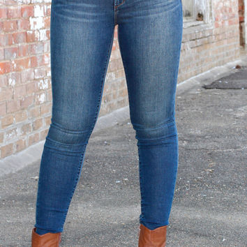 Articles of Society: Sarah Skinny Jean {Sapphire}