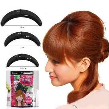 PEAPGC3 1 Set YouMap Sponge Hair Maker Styling Twist Magic Bun Hair Base Bump Styling Insert Tool Volume Y5R4