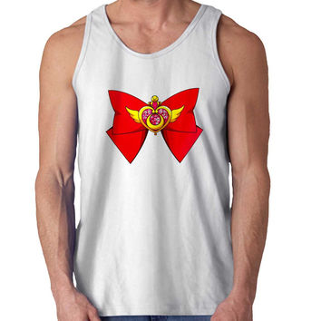 Deluxe Sailor Moon Crisis Moon Compact For Mens Tank Top Fast Shipping For USA special christmas ***