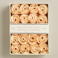 Vanilla Soap Petals, 20 Pieces - World Market