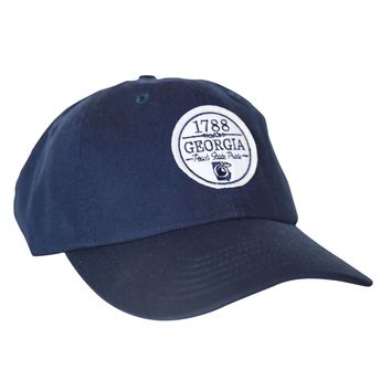 The Georgian Hat in Navy by Peach State Pride