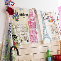 city tea towels - three designs by ulster weavers | notonthehighstreet.com