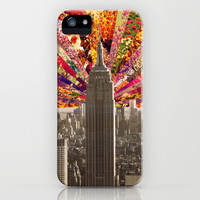 BLOOMING NY iPhone & iPod Case by Bianca Green