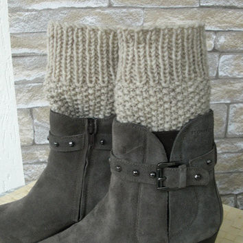 Boot Cuffs - Boot Socks Leg warmers  Legwarmers  Knit  Boot Cuffs - Boot Toppers - Winter Fall Accessories  Winter  Fall  Fashion