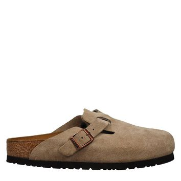 Birkenstock Boston Women's - Taupe Suede