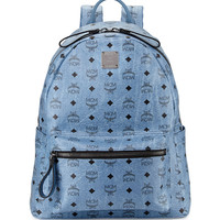 Stark No Stud Medium Backpack, Denim - MCM