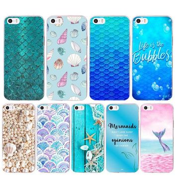Love for the sea mermaid case for iPhone