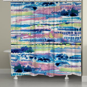Silky Designs Shower Curtain