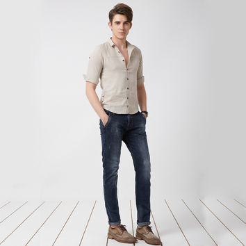 Slim Stretch Men Casual Jeans [6528727875]