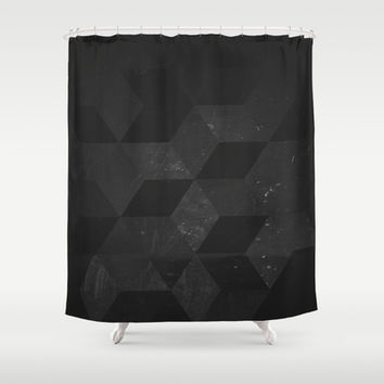 Fade to Black Shower Curtain by DuckyB (Brandi)