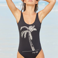 Billabong X Warhol Palm One-Piece Swimsuit | Urban Outfitters
