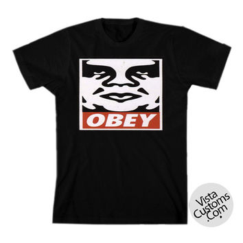 Obey Giant Clothing Mens Cover New Hot T-Shirt