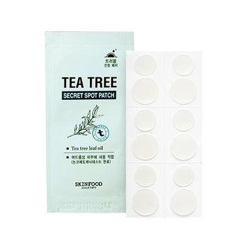 SKINFOOD TEA TREE SECRET SPOT PATCH (1 PC/12 PATCHES)