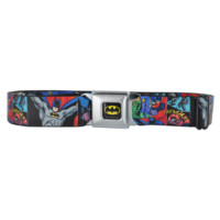 BUCKLE DOWN JOKER SEATBELT BELT