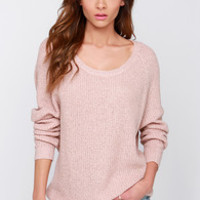 Snuggler's Cove Blush Sweater