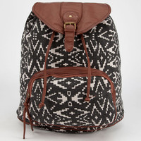 Lulu Zoe Backpack Black/White One Size For Women 24055812501