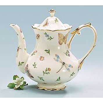 Morning Meadows Porcelain Tea Collection Teapots and Service Sets