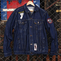 People Person Denim Jacket