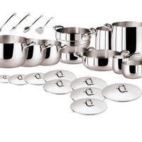 Kikka 16 Pcs Set - Stainless Steel by Sambonet