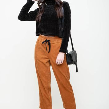 Five Cord Meal Paperbag Pants