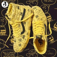VANS x PEANUTS Snoopy Graffiti Sk-Hi Shoes 35-44