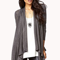 Classic Draped Front Cardigan