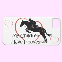 My Children Have Hooves Horse iPhone 5 Case from Zazzle.com