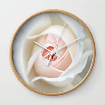 Rose  , Rose  games, Rose  blanket, Rose  duvet cover, Wall Clock by nurrahaq