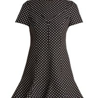 Polka-dot wool-blend dress | Valentino | MATCHESFASHION.COM UK