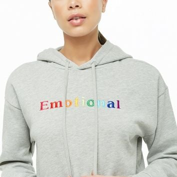 Emotional Graphic Hoodie