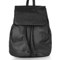 Mini Leather Backpack - Topshop