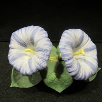 LENOX Garden Flowers, Morning Glory, Porcelain Flower Sculptures Handcrafted in China    (1596)