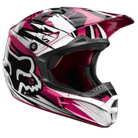 Fox Racing Women's V1 Off Road MX Helmets - Undertow (CLOSEOUT) - Extreme Supply