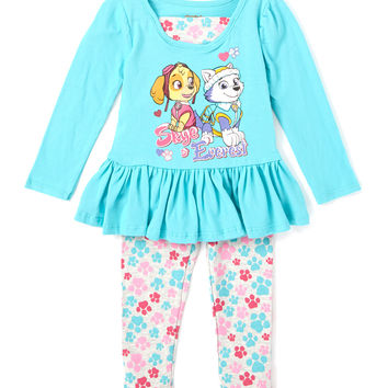 Turquoise PAW Patrol Dress & Leggings - Infant & Toddler | zulily