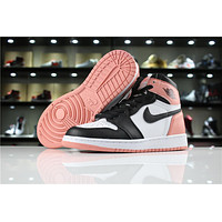 Air Jordan 1 Retro High OG 861428-101 Black/Pink