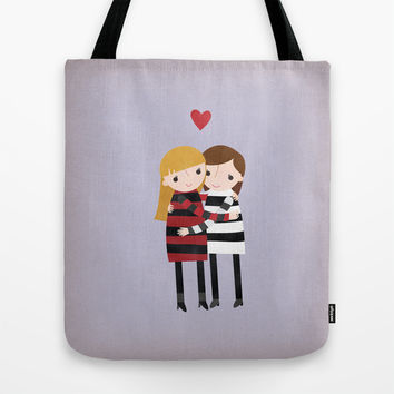 Best Friends Forever - Girls Tote Bag by Rosy Designs