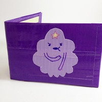 Lumpy Space Princess Adventure Time Duct Tape Wallet