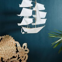 Hanging Ship Decor