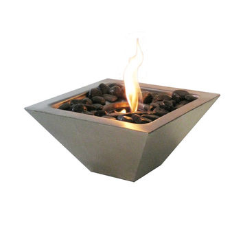 Stainless Steel Table Top Bio-Ethanol Fire Pit